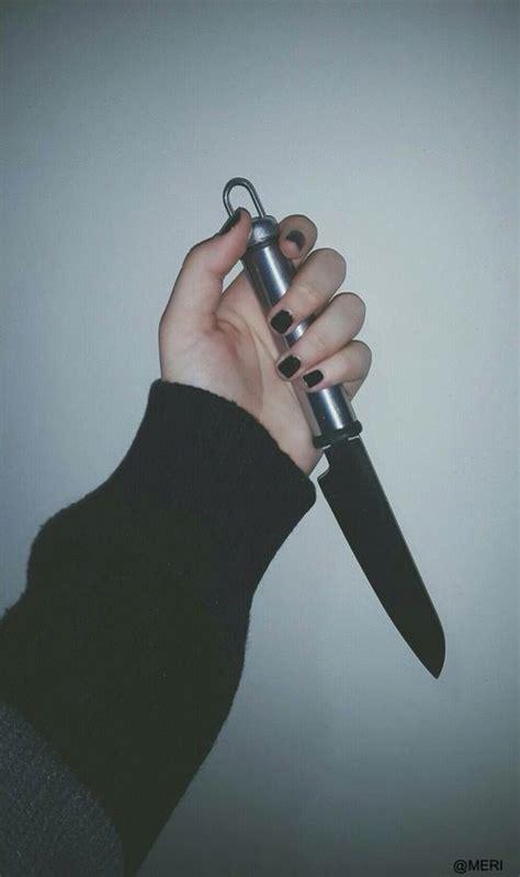 knife black tumblr grunge knife aesthetic grunge
