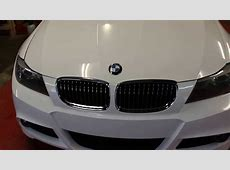 BMW E90 LCI 3M Gloss White Wrap G STARWRAPS YouTube