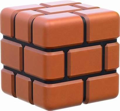 Mario Brick Block Bros Artwork Transparent Bit