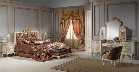 french baroque bedroom art  vimercati classic furniture