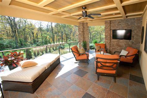 chion patio rooms cincinnati covered porch contemporary balcony cincinnati by