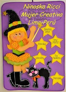 Cartel para decoracion de aula Palabras magicas Manualidades en Goma Eva y Foami