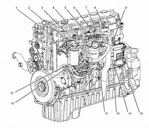 Cat C7 Serpentine Belt Diagram Sketch Coloring Page