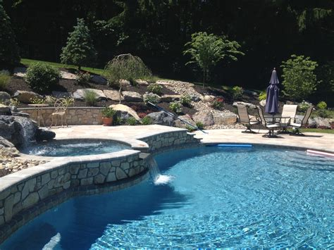 landscaping pools fence company archive landscaping company nj pa custom pools walkways patios fence
