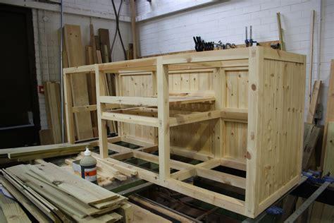 sink unit framework  wooden workshop bampton devon