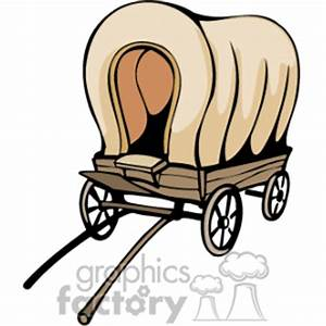 Horse And Covered Wagon Clipart (52+)