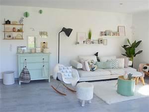 Idee Salon Scandinave : chez am lie et vincent joli place ~ Melissatoandfro.com Idées de Décoration