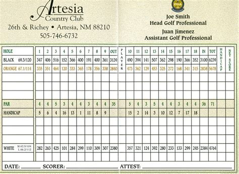 artesia country club  profile
