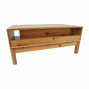 Ikea Table Tv : 71 off ikea ikea husar pine wood tv table storage ~ Teatrodelosmanantiales.com Idées de Décoration