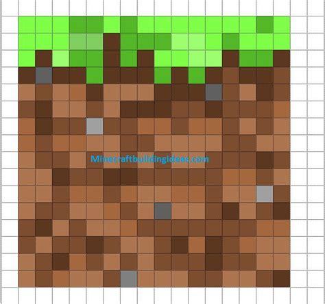 minecraft pixel art templates dirt block minecraft room