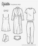 Coloring Flat Sketch Sketches Spinster Pages Loungewear Drawings Pants Tracksuit Wear Lounge Sweatpants Flats Shirt Spinsterhooddiaries Freecoloringpages Colorful sketch template