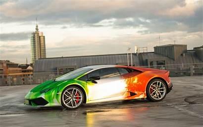 Lamborghini Huracan Tech Wallpapers