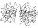 Colorare Sailor Moon Chibi Disegni Coloring Gratuitamente Glaceon Immagini Guerriere Disney Collezioni Migliori Gratis Template sketch template