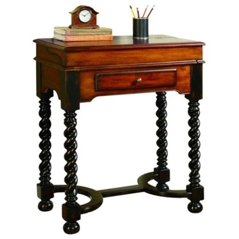 hooker seven seas desk hooker furniture seven seas jacobean twist leg flip top
