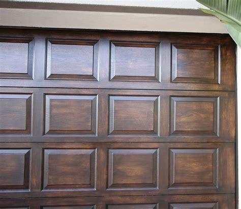 Faux Wood Garage Doors — New Decoration  Faux Wood Garage
