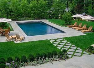 amenagement jardin paysager autour dune piscine 40 idees With amenagement jardin autour piscine