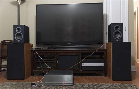 Bookshelf Speaker Setup - elac debut b5 bookshelf speaker
