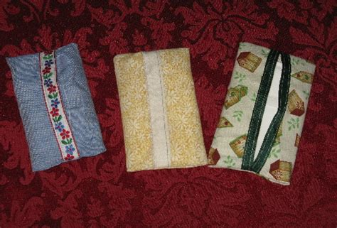 fabric pocket tissue holder sewing projects burdastylecom