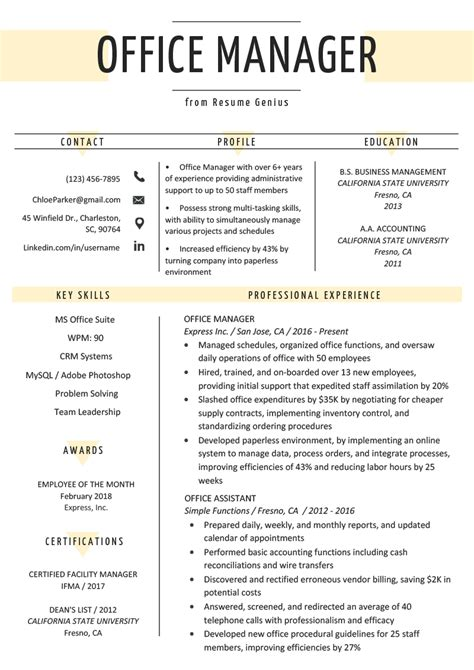 manager resume samples ipasphoto