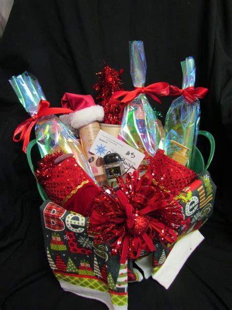 holiday basket raffle