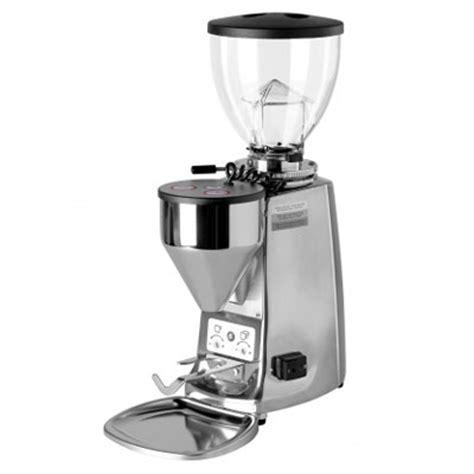 Mazzer Mini E Type B Espresso Grinder Polished