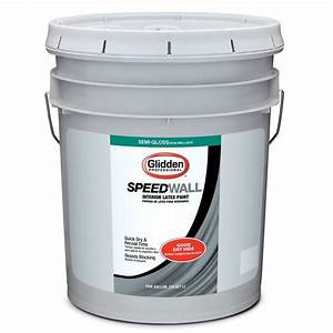 Glidden Professional 5 galSpeed Wall Semi Gloss Interior