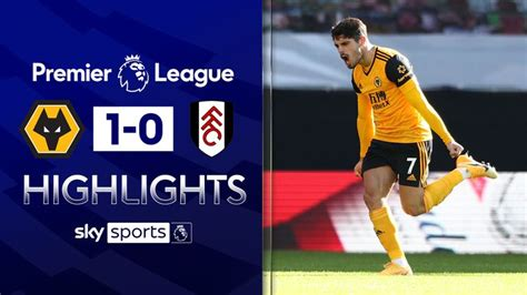 Wolves 1 - 0 Fulham - Match Report & Highlights