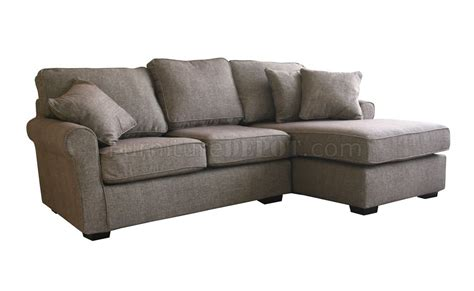 Small Contemporary Sofas by Contemporary Small Sectional Sofa In Brown Fabric