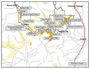 Colorado BLM Land Map