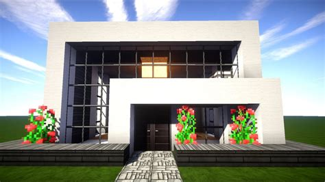 Minecraft Moderne Häuser Zum Nachbauen by Minecraft Tutorial Wie Baue Ich Ein Sch 246 Nes Haus 001