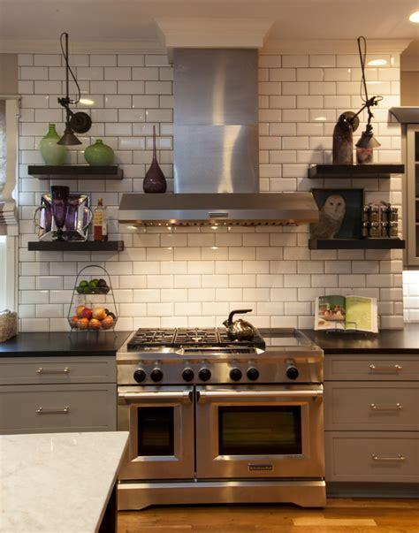white kitchen tile ideas splashy white subway tile backsplash convention atlanta
