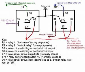 Door Power  U0026 How To Remove Install Power Door Lock Relay