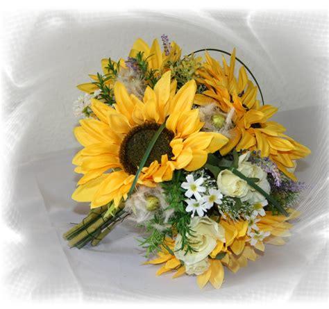brautstrauss sonnenblumen gross brautstrauss