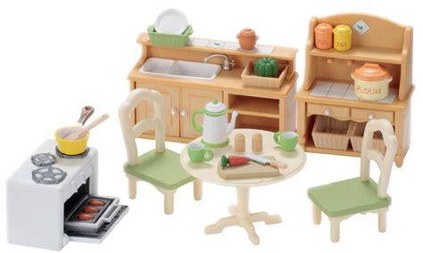 sylvanian families cuisine country kitchen set sylvanian families
