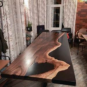 Table En Bois Et Resine : ecopoxy liquid plastic 2 1 r sine poxy pour table ~ Dode.kayakingforconservation.com Idées de Décoration