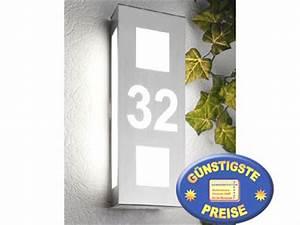 Außenleuchte Mit Hausnummer : au enleuchte new design 26 hn aqua trilo mit hausnummer cmd briefkasten ~ Buech-reservation.com Haus und Dekorationen