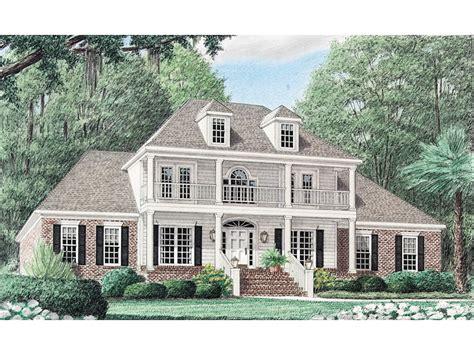 van birkelle plantation home plan   house plans