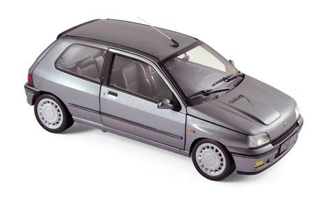 renault grey renault clio 16s 1991 tungstene grey