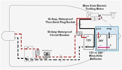 Motorguide 12 Volt Wiring Diagram by How To Wire A Trolling Motor To The Batteries Impremedia Net