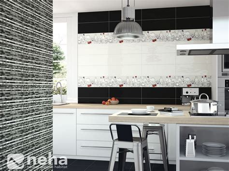 faience cuisine et blanc maison design bahbe
