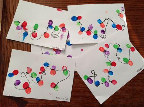christmas thumbprints crafts