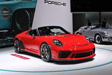 Porsche 911 Speedster Concept, Paris Motor Show 2018