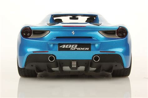 The 488 spider dimensions is 4568 mm l x 1952 mm w x 1211 mm h. Ferrari 488 Spider Hard Top 1:18   MR Collection Models
