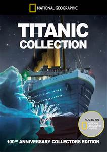 Book Chart Uk National Geographic Titanic Collection Dvd Zavvi