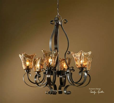Hanging From The Chandeliers by Large 31 Quot Iron Glass Hanging Chandelier Ceiling