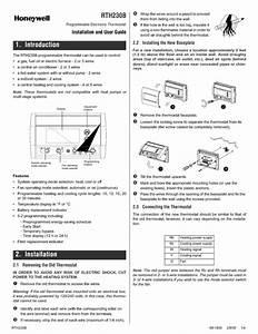 Honeywell Thermostat Wiring Diagram Rth230b