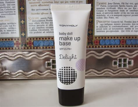 Harga Makeup Tony Moly tony moly baby doll makeup base review makeupview co