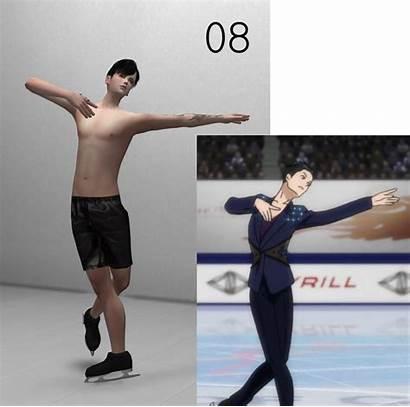 Ice Poses Skating Yuri Sims Minc Male