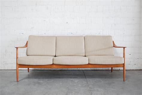 canapé en teck canapé en teck par knoll antimott danemark en vente sur