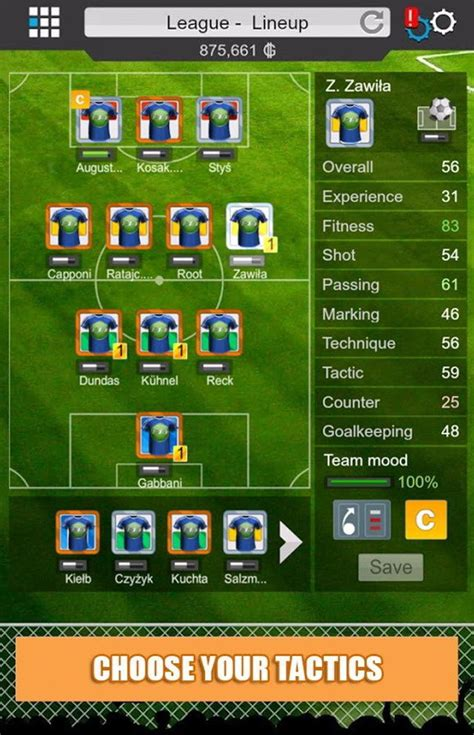 Build Your Team Footalist Build And Manage Your Own Team With Goal Football Manager